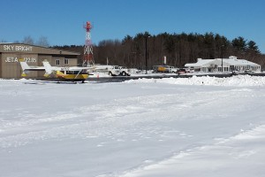 Laconia airpot in winter